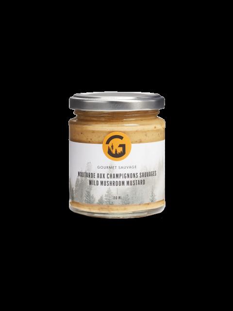Wild mushroom mustard