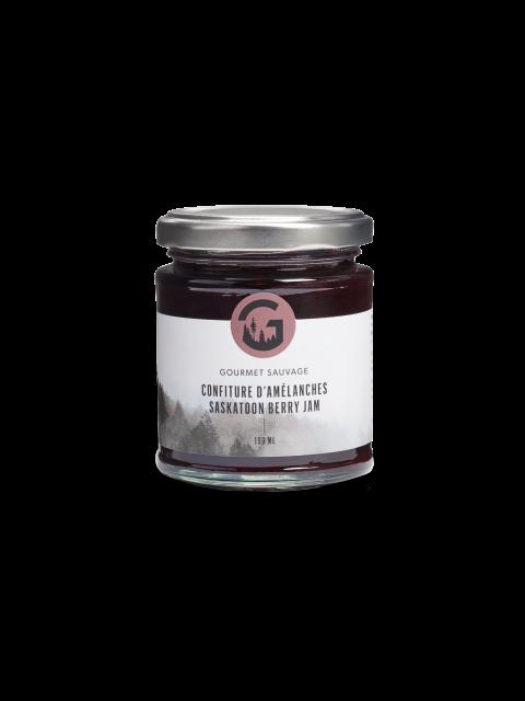 Saskatoon berry jam