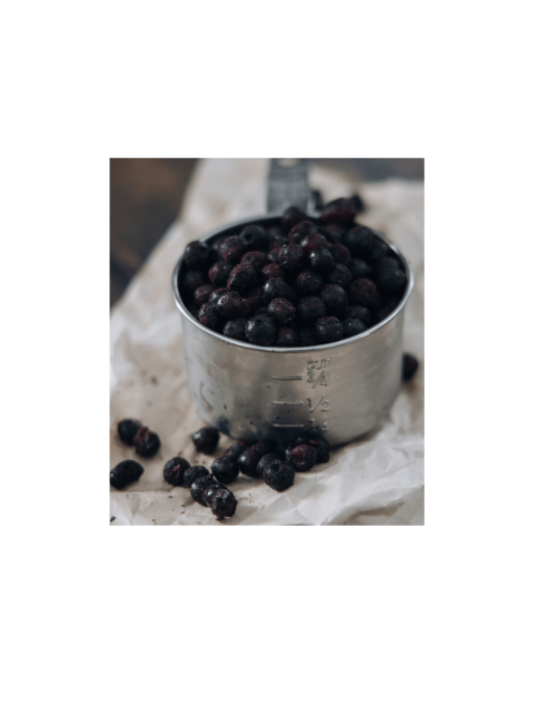 Frozen wild blueberries 2 kg