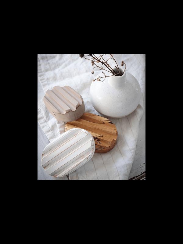 Porte-savon en érable du Québec