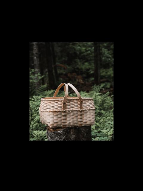Panier de cueillette modèle pique-nique – fait au Québec