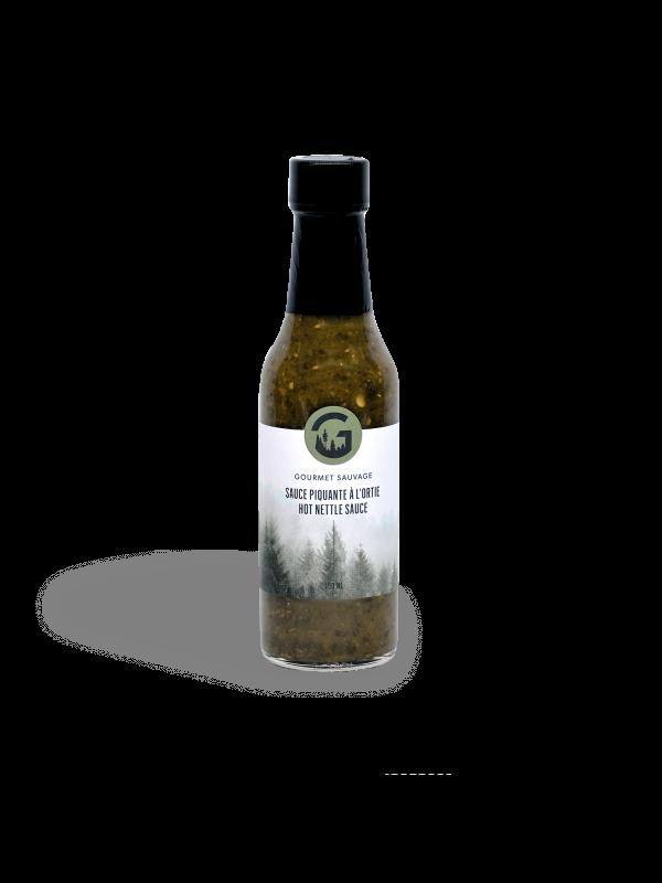 Hot nettle and balsam fir sauce