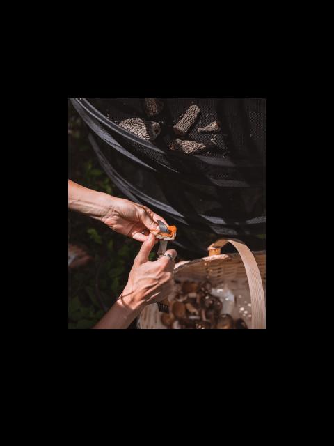 Ensemble MYCÉLIUM – Panier, couteau et séchoir à champignons